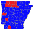 1990 Arkansas Gubernatorial Results By County.png