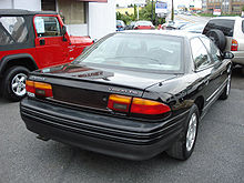 1995 Eagle Vision Tsi Rear