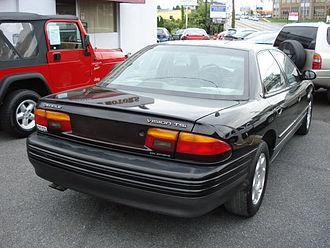 Eagle Vision - 1995 Eagle Vision TSi rear