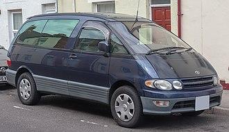 Toyota Previa - 1999 Toyota Estima Lucida (Japan)