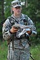 1st Lt. Andrew DAmelio on the land navigation course (7646764706).jpg