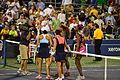 1st round US Open 2013 doubles (9630776725).jpg