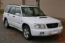 Subaru forester model years