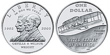 2003 Wright Brothers Uncirculated Dollar