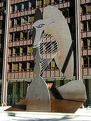 Picasso sculpture in Chicago.