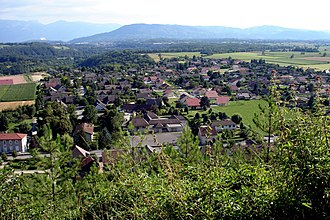 Apprieu - General View to the South-west