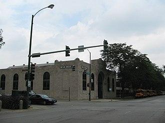 De La Salle Institute - De La Salle Institute at the corner of 35th Street and Michigan Avenue