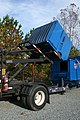 2008-11-11 Dumpster lifted on a truck.jpg