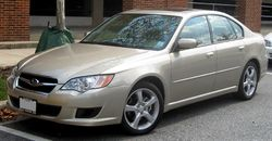 2008 Subaru Legacy 2.5 i Limited sedan (US)