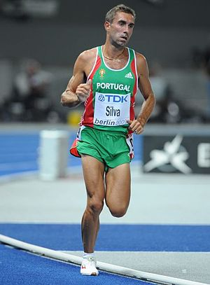 2010 European Cross Country Championships - Rui Pedro Silva was eighth and earned a team silver with Portugal.