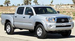 2011 Toyota Tacoma Double Cab (US)