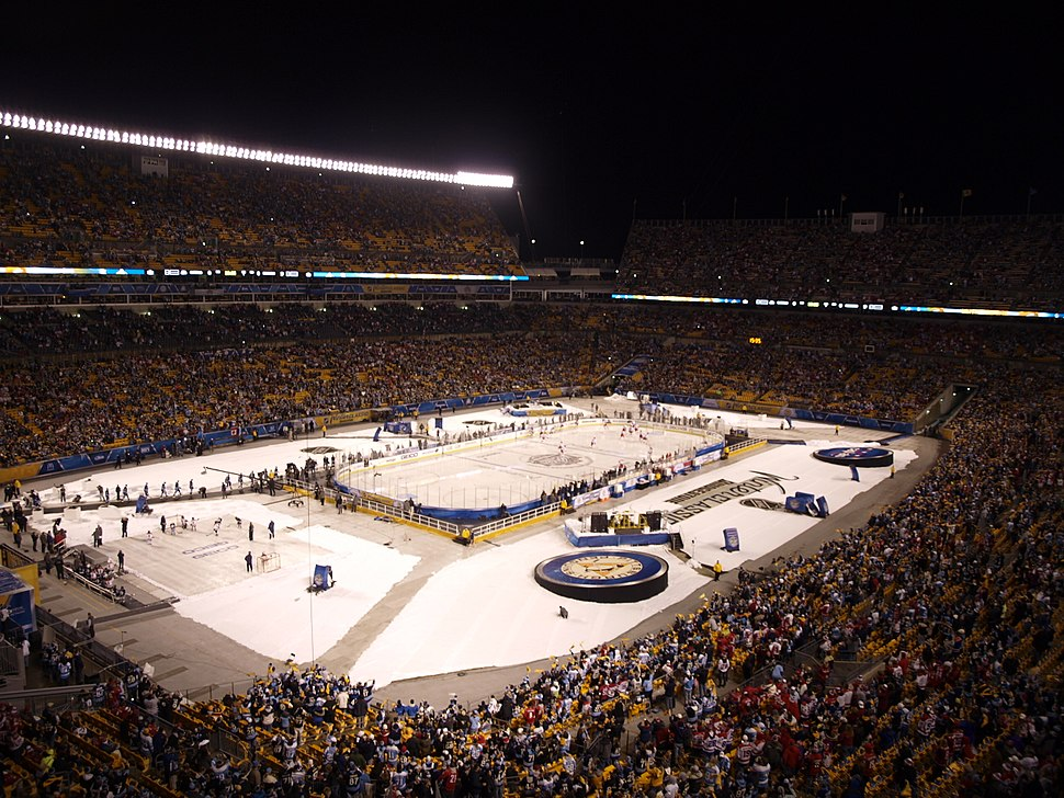2011 Winter Classic player entrance