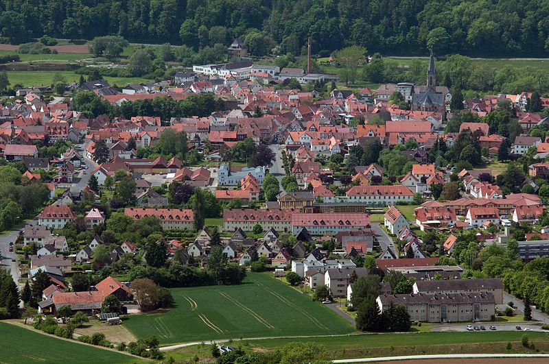 File:20120519 125312 Wanfried Stadtkern aus Nord-Ost.jpg