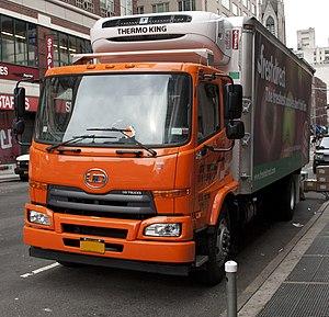 Nissan Diesel Condor - Image: 2012 UD 2600, NYC