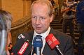 2013 Wahl des Oberbürgermeisters von Hannover, Stichwahl, 171, Stefan Schostok, faktisch bereits Wahlsieger, Interview mit Radio ffn Antenne Niedersachsen NDR 1 106,5 leinehertz.jpg