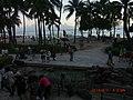2014年、ハワイ到着時の夕暮れ時 - panoramio.jpg