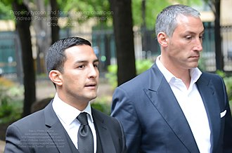 Andreas Panayiotou (businessman) - Image: 2014 05 02 Andreas Panayiotou arrives at Southwark Crown Court in London (14089475185)