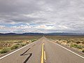 2014-08-11 13 45 25 View east along U.S. Route 50 about 14.4 miles east of the Eureka County line in White Pine County, Nevada.JPG