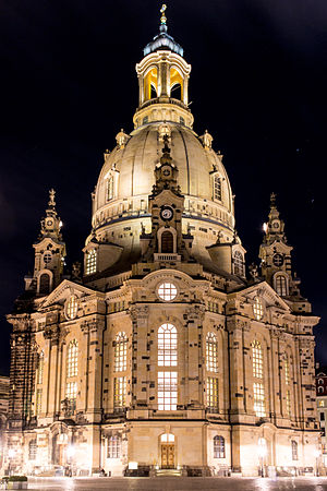 20140111-Dresden-Frauenkirche at night (Jan 2014).jpg