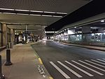 2015-04-14 00 35 22 Drop-off and pick-up zone in front of Terminal 2 at Salt Lake City International Airport, Utah.jpg