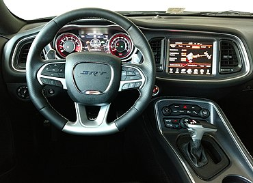 Redesigned Interior Of The 2015 Challenger (SRT 392 Depicted)