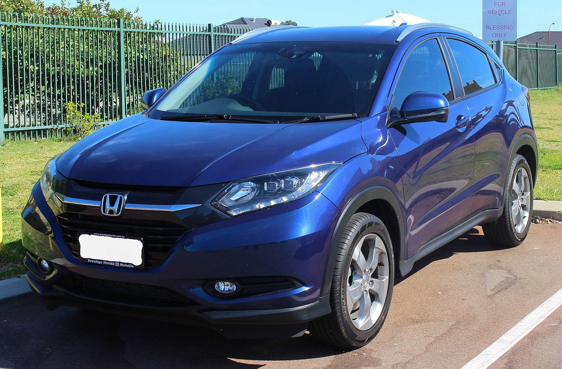 2015 Honda HR-V (MY15) VTi-S wagon (2015-04-25).JPG