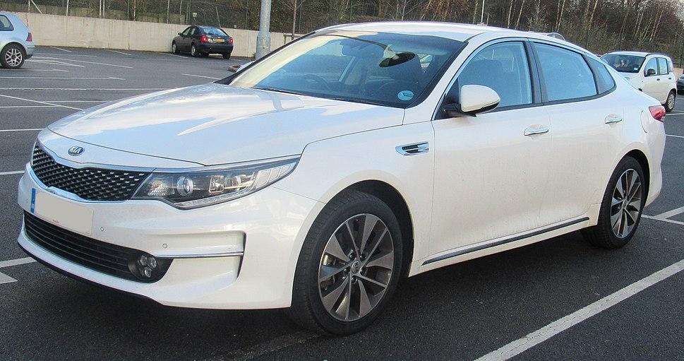 2015 Kia Optima 3 ISG CRDi 1.7 Front