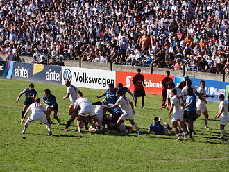 Uruguay national rugby union team - 2015 Rugby World Cup repechage qualifier match between Uruguay and Russia