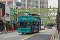 2016 Singapur, Chinatown, Ulica South Bridge, Autobus wycieczkowy (02).jpg