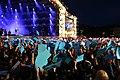 2016 Woodstock 038 Główna Scena - Zamachy w Paryżu.jpg