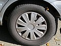 2017-09-14 (104) Michelin Energy Saver 215-65 R 15 96 H tire at Bahnhof Unter Purkersdorf.jpg