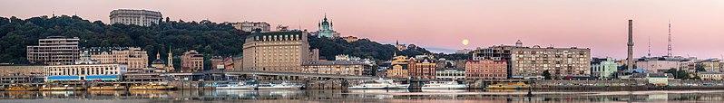 Київ: Поштова площа та Поділ. Автор фото — Moahim, вільна ліцензія CC BY-SA 4.0