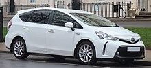 Toyota Prius Excel United Kingdom Facelift