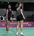 2018-10-12 Badminton Mixed International Team Final match 1 at 2018 Summer Youth Olympics by Sandro Halank–012.jpg