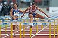 2018 DM Leichtathletik - 100-Meter-Huerden Frauen - Pamela Dutkiewicz - by 2eight - DSC7854.jpg