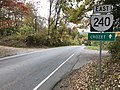 2019-10-25 15 32 20 View east along Virginia State Route 240 (Crozet Avenue) just north of Rockfish Gap Turnpike (U.S. Route 250) in Brownsville, Albemarle County, Virginia.jpg