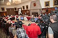 21-05-14- Quito Ecuador,Canciller Ricardo Patiño conversó con medios de comunicación sobre la universalización del SIDH y Día Internacional contra Chevron-6 (14237058862).jpg