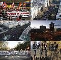 22M Marchas de la Dignidad collage - Spanish protests 2011-2015.jpg