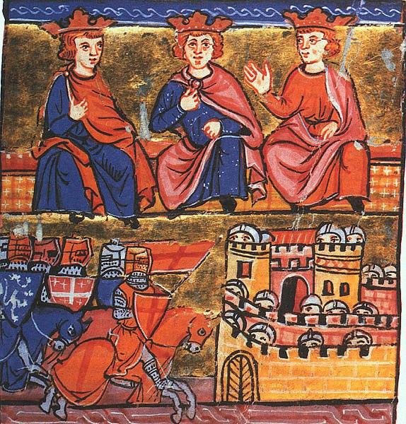 2nd Crusade council at Jerusalem