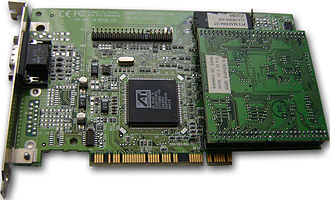 ATI Rage - ATI 3D Rage II Graphics Card
