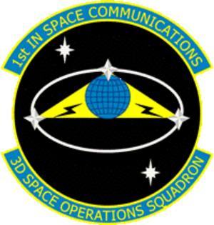 3d Space Operations Squadron - Image: 3d Space Operations Squadron