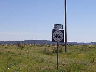 New Mexico State Road 406 highway in New Mexico