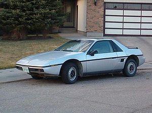 GM P platform - 1984 Pontiac Fiero
