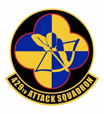 429th Attack Sq emblem