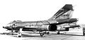 437th Fighter-Interceptor Squadron F-101Bs 1960.jpg
