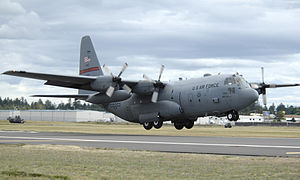 29th Weapons Squadron - A C-130 Hercules from Little Rock, Air Force Base, Arkansas