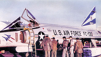 86th Air Division - 525th FIS F-102 about 1962