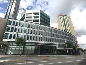 Queen's Tower, Brisbane - A current commercial building at the site
