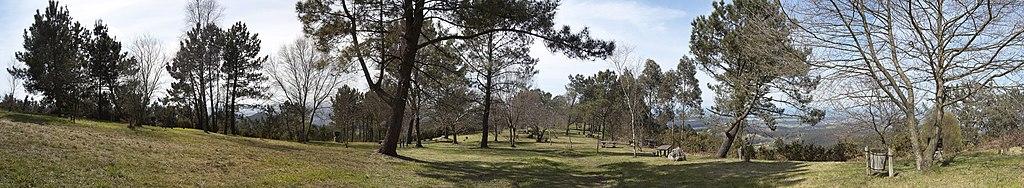 Área recreativa de Pulide, en el concejo de Castrillón (Asturias).