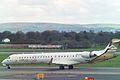 5A-LAC Canadair CL-600-2D24 Regional Jet CRJ-900ER (cn 15122) Libyan Airlines. (6693738631).jpg